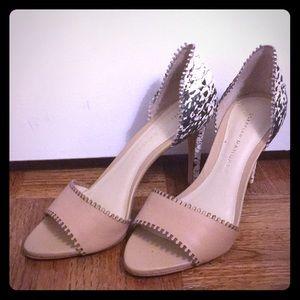 Loeffler Randall New peep toe heels